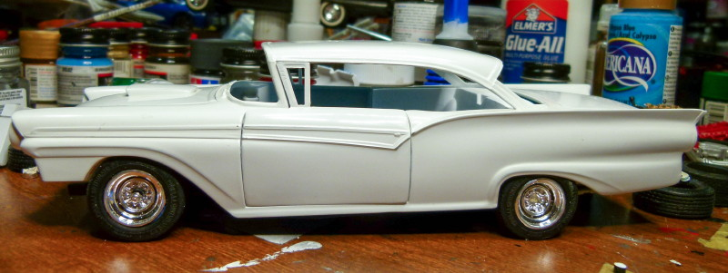Ford New Car >> Under Construction AMT 1957 Ford Fairlane 500