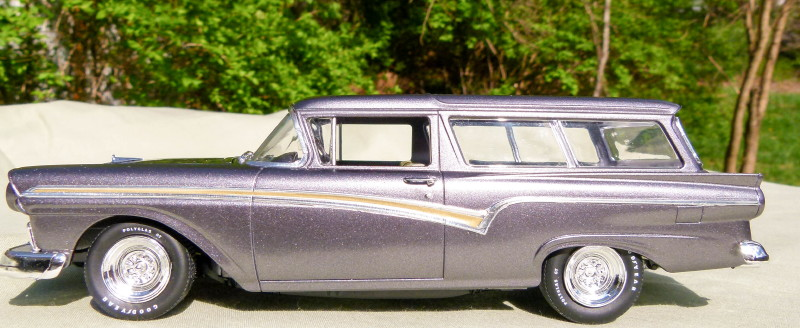 Another Monogram 1957 Ford Del Rio Wagon - Under Glass - Model Cars